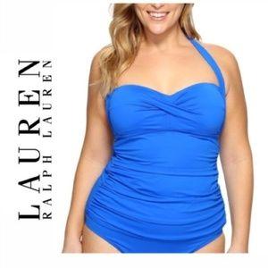 Ralph Lauren Beach Club Halter Tankini Top